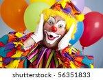 Birthday Clown In Full Costume  ...