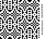 vector seamless pattern.... | Shutterstock .eps vector #563529409