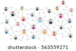 vector illustration of an... | Shutterstock .eps vector #563559271