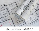 set of architectural plan... | Shutterstock . vector #563567