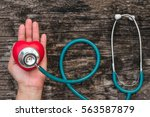 medical healthcare insurance... | Shutterstock . vector #563587879