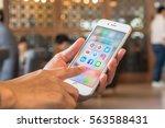 bangkok  thailand   january 22  ... | Shutterstock . vector #563588431
