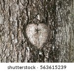 Heart Shape Wooden Mark Placin...