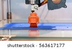 automatic three dimensional 3d... | Shutterstock . vector #563617177