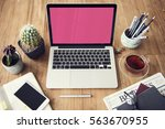 computer network connection... | Shutterstock . vector #563670955
