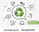recycle it vector illustration. ...