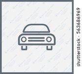 car icon | Shutterstock .eps vector #563686969