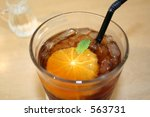 orange flavoured tea | Shutterstock . vector #563731