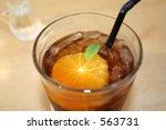 orange flavoured tea | Shutterstock . vector #563731