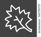 maple leaf | Shutterstock .eps vector #563750737