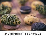 Background With Cannabis Nugs...