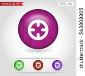 colored icon or button of... | Shutterstock .eps vector #563808805