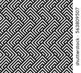vector seamless pattern. ... | Shutterstock .eps vector #563809507