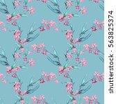 Field Flowers Seamless Pattern...