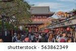 tokyo    japan   october 12 ... | Shutterstock . vector #563862349
