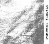vector silver foil background... | Shutterstock .eps vector #563895121