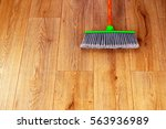 cleaning the interior wooden... | Shutterstock . vector #563936989