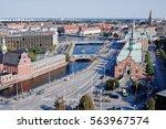 copenhagen  denmark   september ... | Shutterstock . vector #563967574