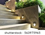 stairway and light   Shutterstock . vector #563975965