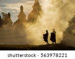 Buddhist Novice Monks Stay...