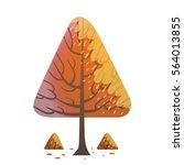 vector cartoon image of a... | Shutterstock .eps vector #564013855