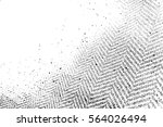distressed grainy thread... | Shutterstock .eps vector #564026494