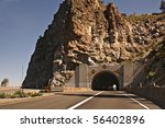 Tunnel On Highway 50 In Nevada...