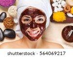 facial. | Shutterstock . vector #564069217