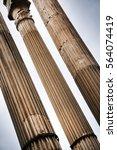 ancient roman architectural... | Shutterstock . vector #564074419
