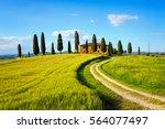 Pienza  Tuscany   Italy   May...