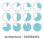blue vector illustration ... | Shutterstock .eps vector #564086401