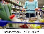 consumerism and people concept  ... | Shutterstock . vector #564101575