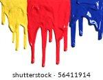 paint dripping | Shutterstock . vector #56411914
