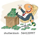 vector illustration of a... | Shutterstock .eps vector #564120997