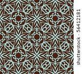 vintage seamless pattern. | Shutterstock .eps vector #56412181