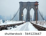 The Brooklyn Bridge Is Covered...