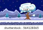 landscape for browser and... | Shutterstock .eps vector #564128365