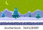 landscape for browser and... | Shutterstock .eps vector #564128389