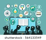vector illustration.... | Shutterstock .eps vector #564133549
