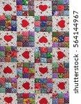 Handmade Patchwork Quilt Floral ...