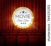 movie cinema premiere poster... | Shutterstock .eps vector #564151201