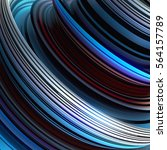 red and blue colored abstract... | Shutterstock . vector #564157789