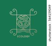 vector logo element. abstract ... | Shutterstock .eps vector #564159049