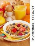 healthy breakfast   Shutterstock . vector #56416795