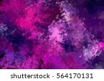 brushed painted abstract... | Shutterstock . vector #564170131