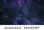 deep space. high definition... | Shutterstock . vector #564185587