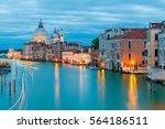 venice. church of santa maria... | Shutterstock . vector #564186511
