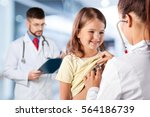 pediatrician. | Shutterstock . vector #564186739