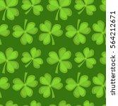 clover seamless pattern. st....   Shutterstock .eps vector #564212671