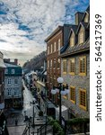 Small photo of Rue du Petit-Champlain at Lower Old Town (Basse-Ville) - Quebec City, Quebec, Canada